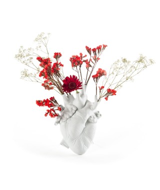 "Seletti ""Love in Bloom"" - vaso cuore - Marcantonio"
