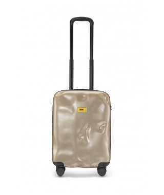 "Crash Baggage ""Icon"" – Valigia Cabin 4w Metal Gold"