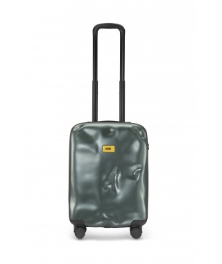 "Crash Baggage ""Icon"" – Valigia Cabin 4w Metal Green"