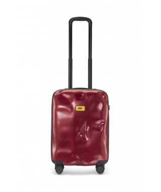 "Crash Baggage ""Icon"" – Valigia Cabin 4w Metal Red"
