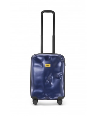 "Crash Baggage ""Icon"" – Valigia Cabin 4w Metal blue"