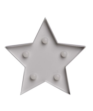 "Pusher ""Cassiopea mini metal star"" - lampada"