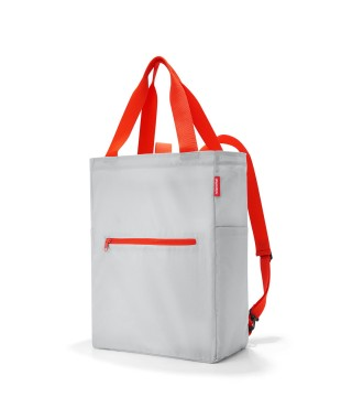 "Reisenthel ""Mini maxi 2-in-1"" - Shopper Grigio/Arancio"