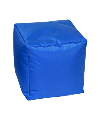 "Creativando ""Pouf Easy"" - Pouf Morbido Cubo Blue"