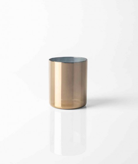 "Knindustrie ""Lime Lux"" - Tumbler Basso Oro"