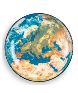 """Diesel Living with Seletti """"Cosmic Diner Earth Europe"""" - Piatto Europa"""