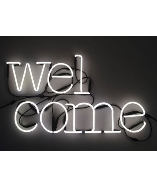 "Neon Art ""Welcome"""
