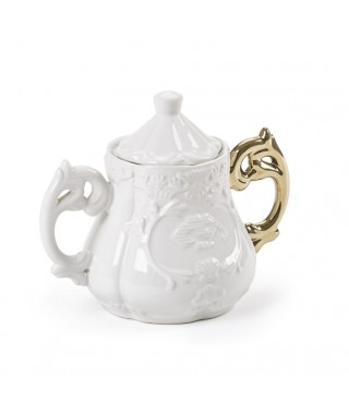 I-Sugar Bowl(I-Wares) - manico finitura gold