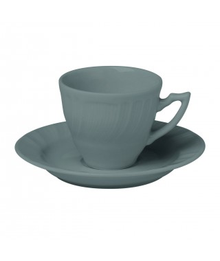 "Bitossi Home ""Romantic"" - tazza caffè con piattino"