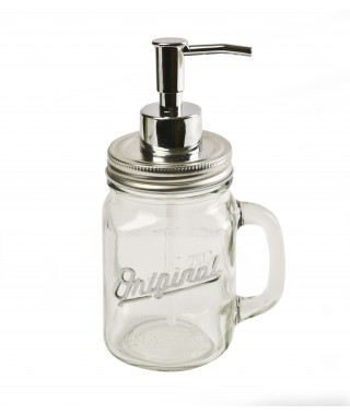 "Pusher ""Pump my jar"" - dispenser"