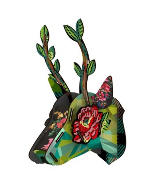 "Miho ""Eco Deer Heads"" - Funhouse"